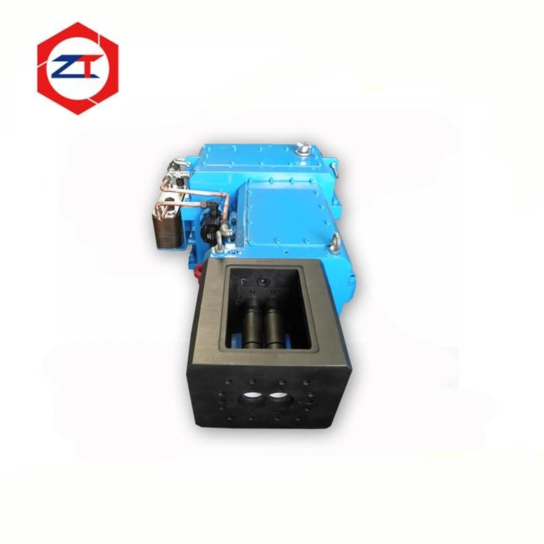 Blue Co Rotating Twin Screw Extruder Gearbox , High Speed Gearbox Easy Installed