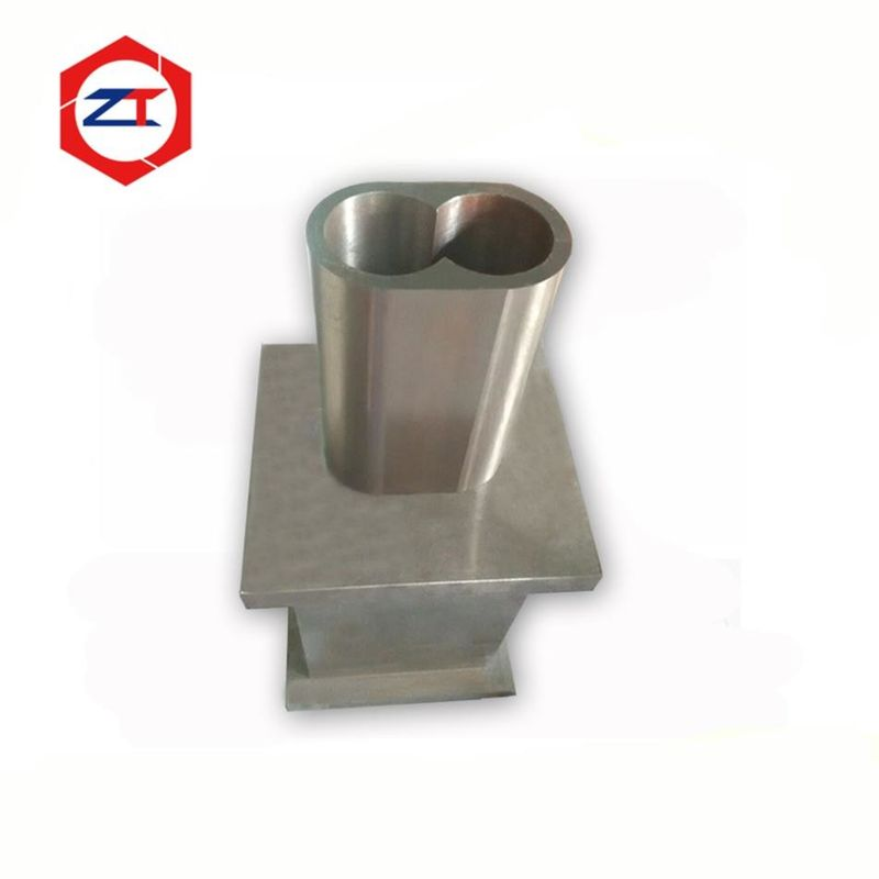 65mm Closed Barrel Extruder Machine Parts Silver Color Quick Delivery