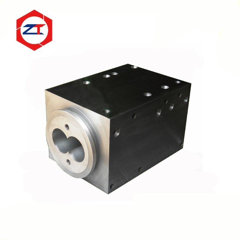 80mm Clamp Connection Pellet Machine Parts Screw Barrel For ZE Berstorff Machine