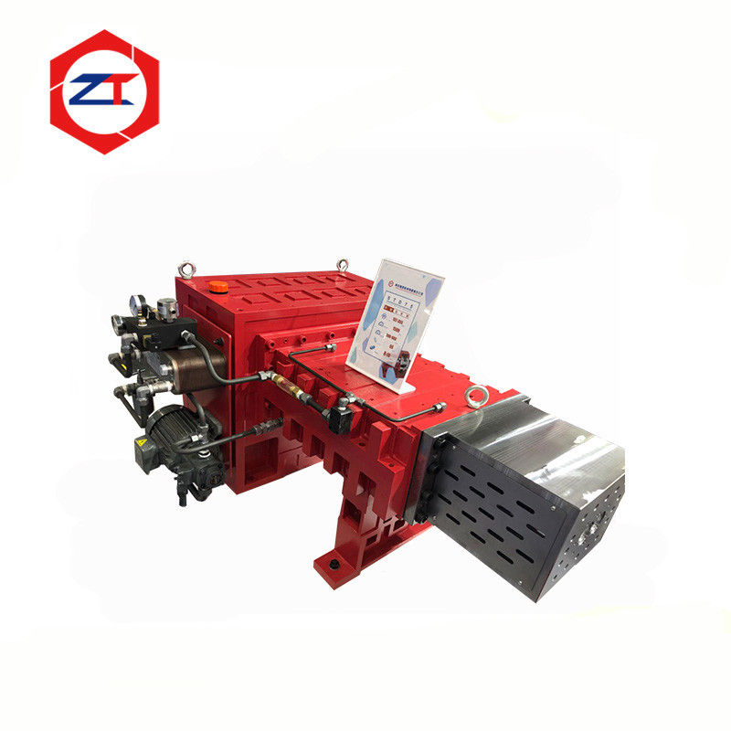 Twin Screw Machine Speed Reducer Gearbox , Red Industrial Planetary Gearbox